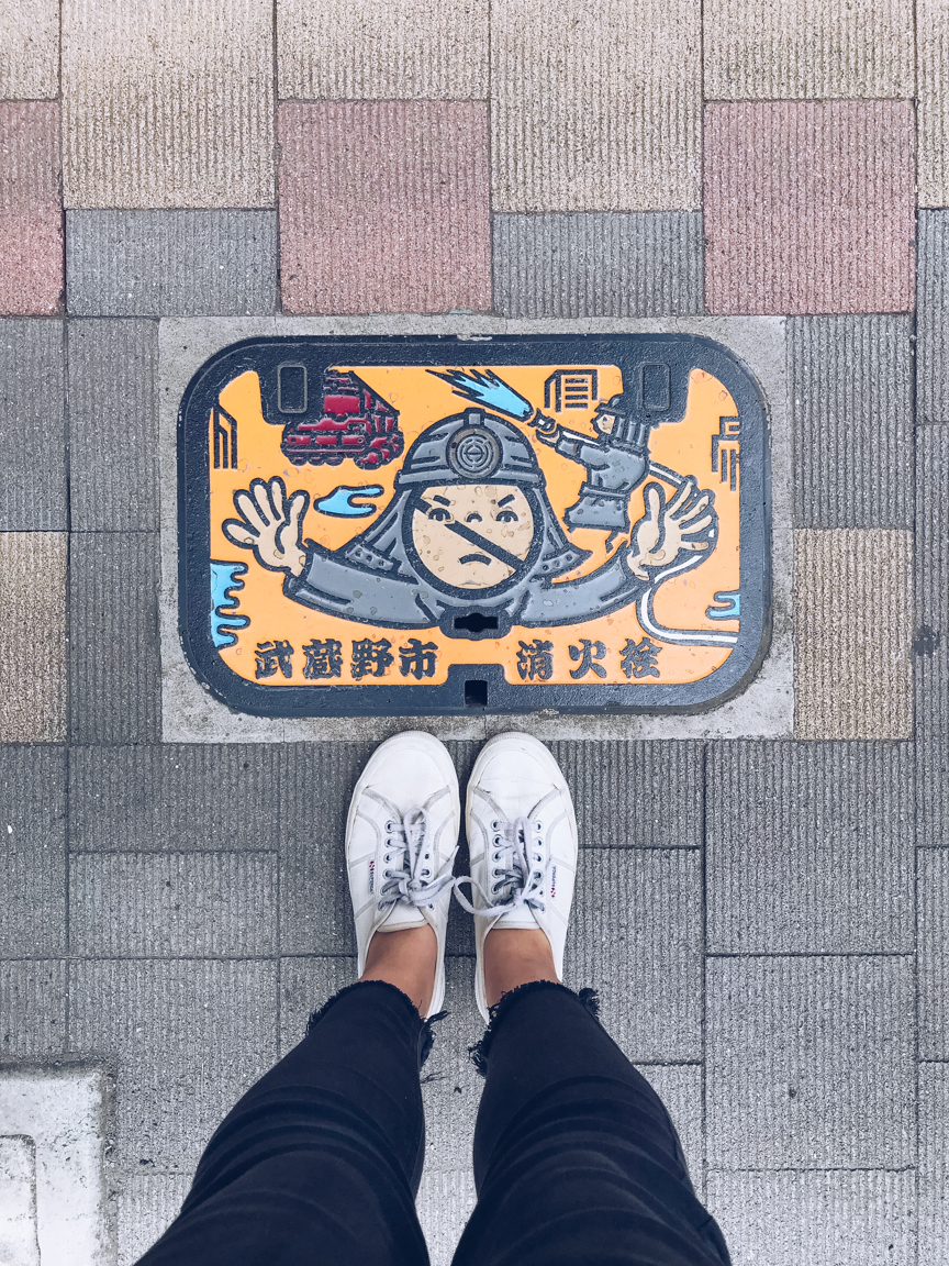 Japanese drain cover