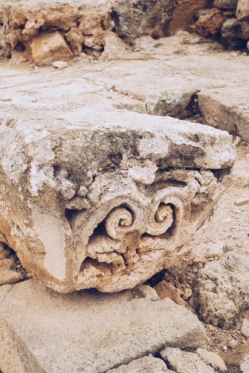 roman ruins in cyprus