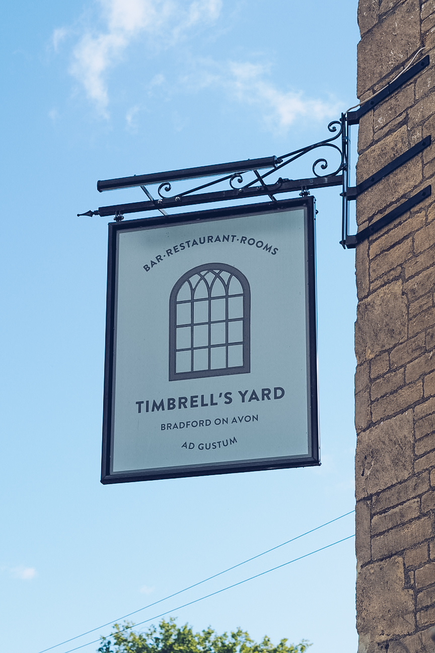 Timbrell's Yard sign