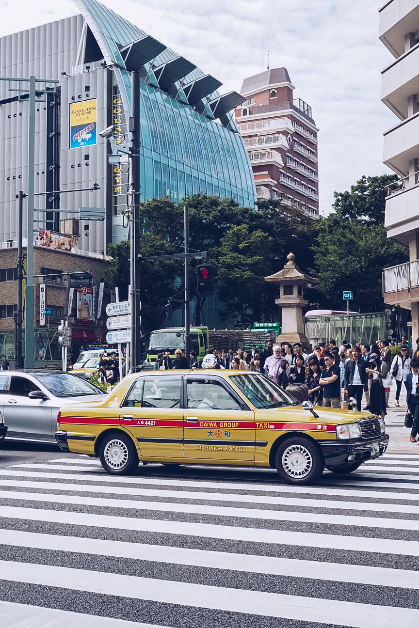 Taxis in Harajuku