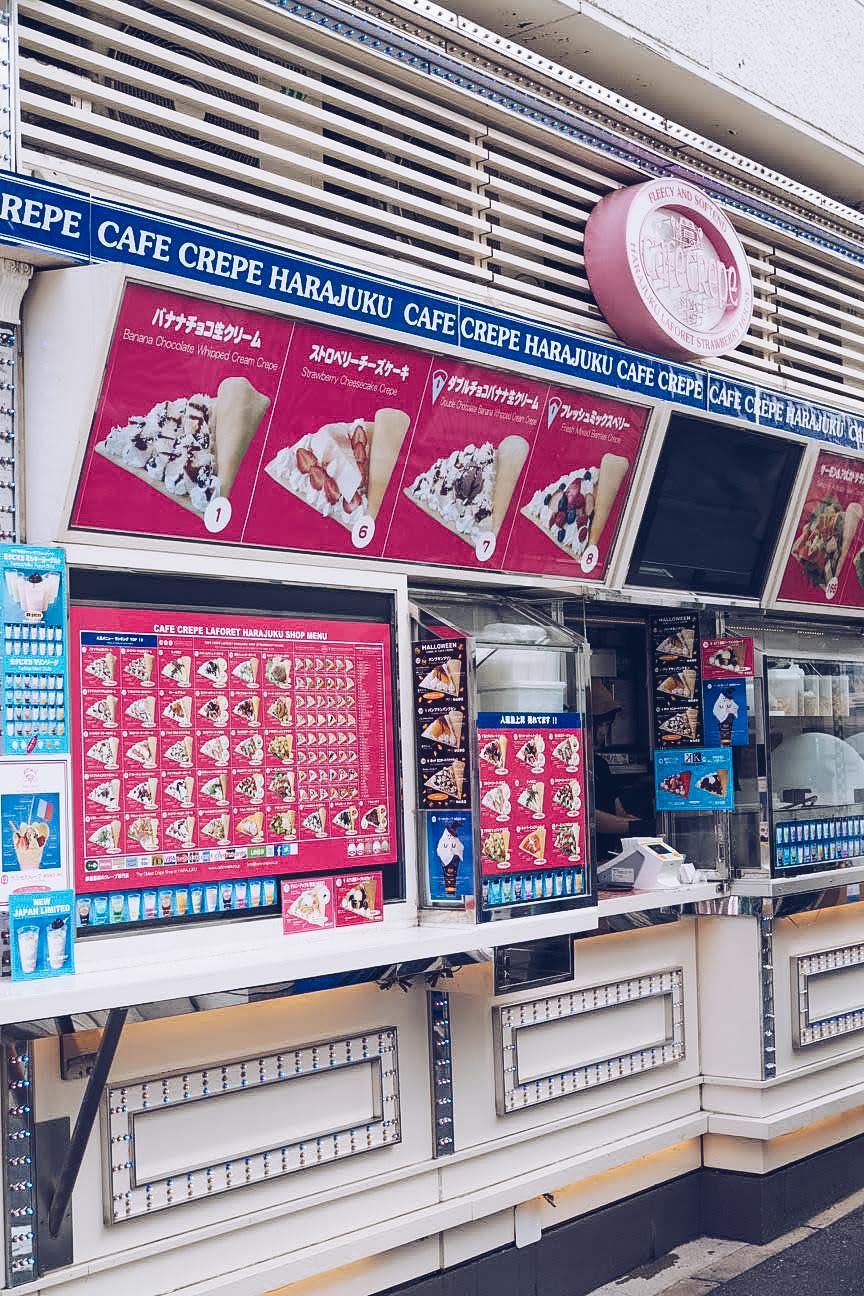 Cafe Crepe, Harajuku