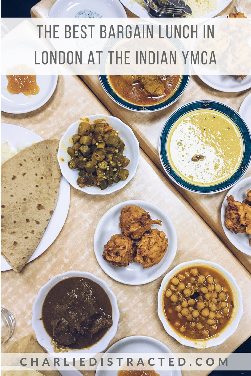 Lunch at the Indian YMCA: The Best Bargain Meal in London