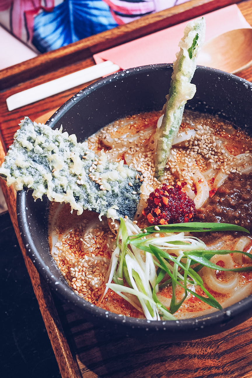 tan tan udon noodles