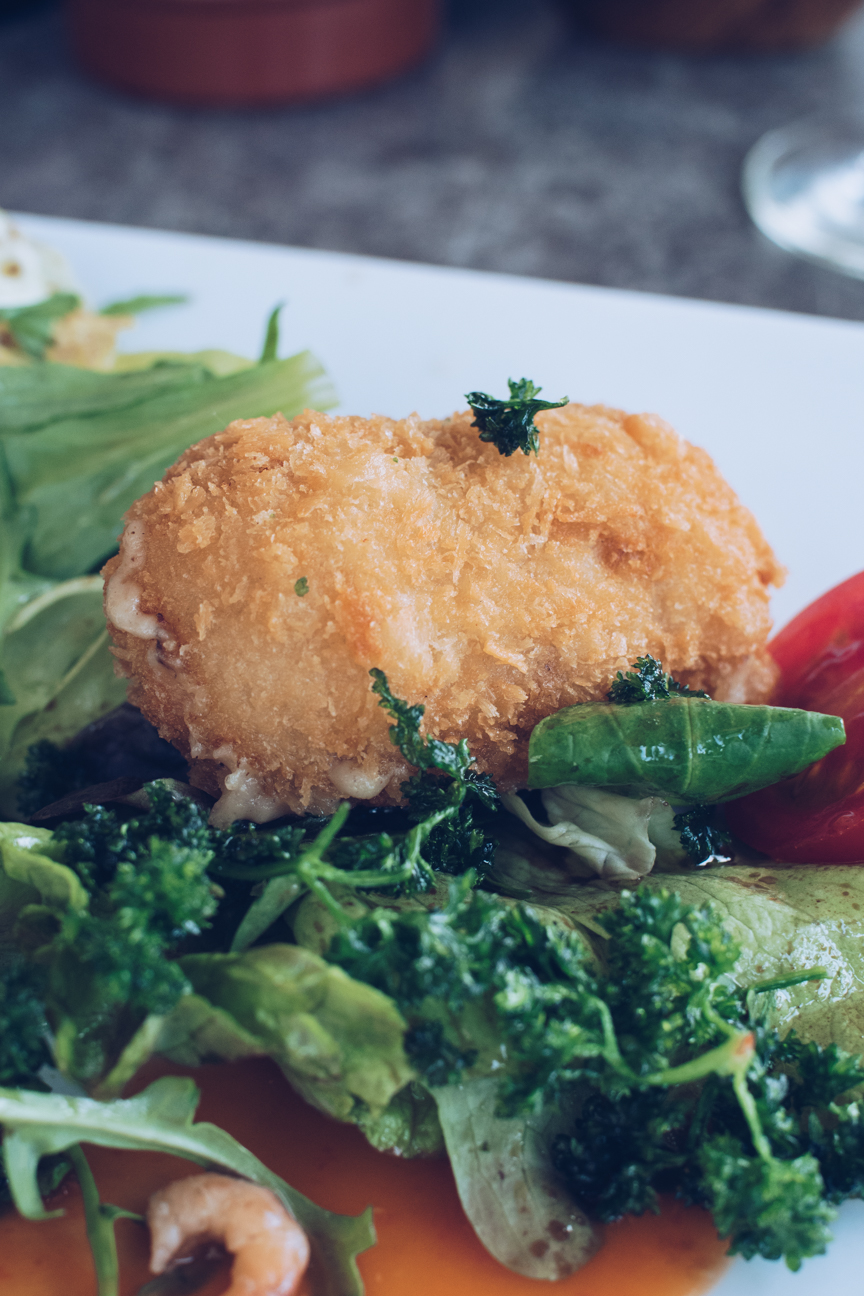 shrimp croquettes