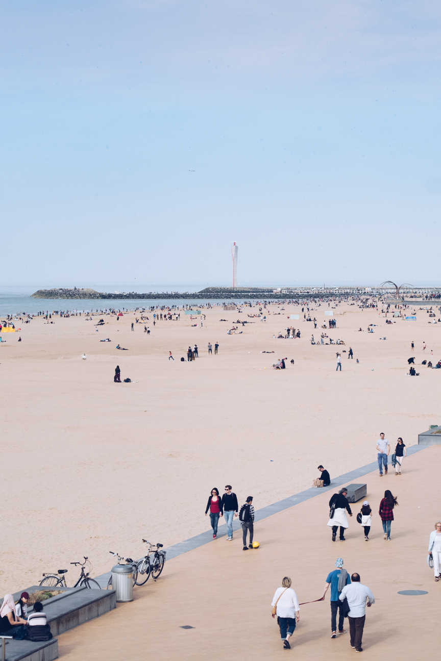 ostend beach and promenade