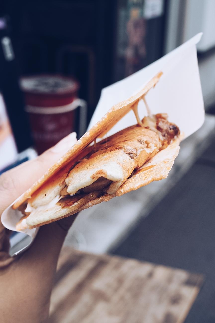Ikayaki omelette
