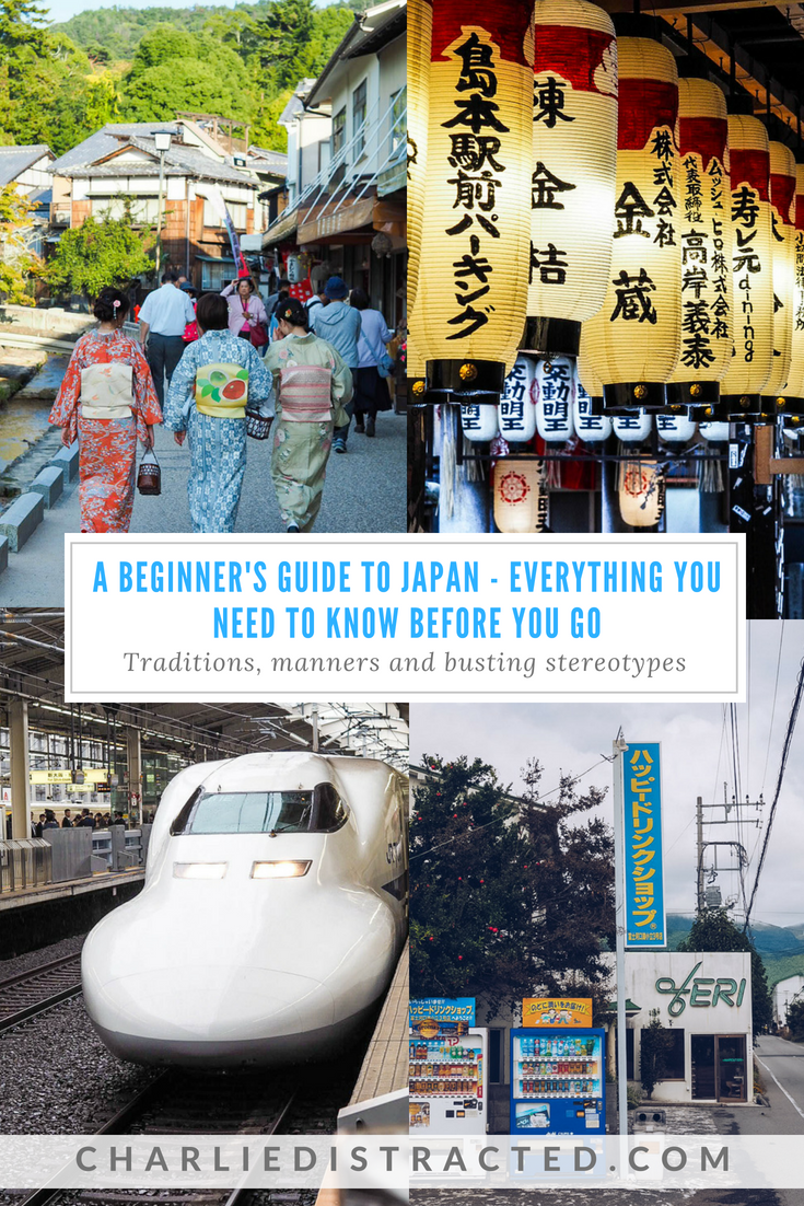 tips for travelling to japan