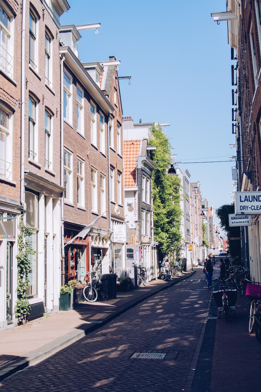 streets in jordaan, amsterdam
