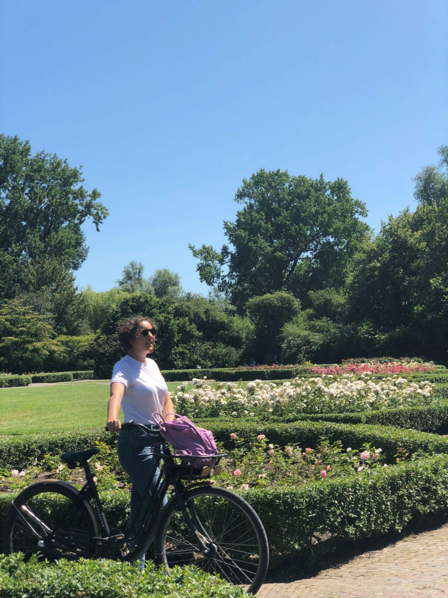 hiring bikes in vondelpark amsterdam