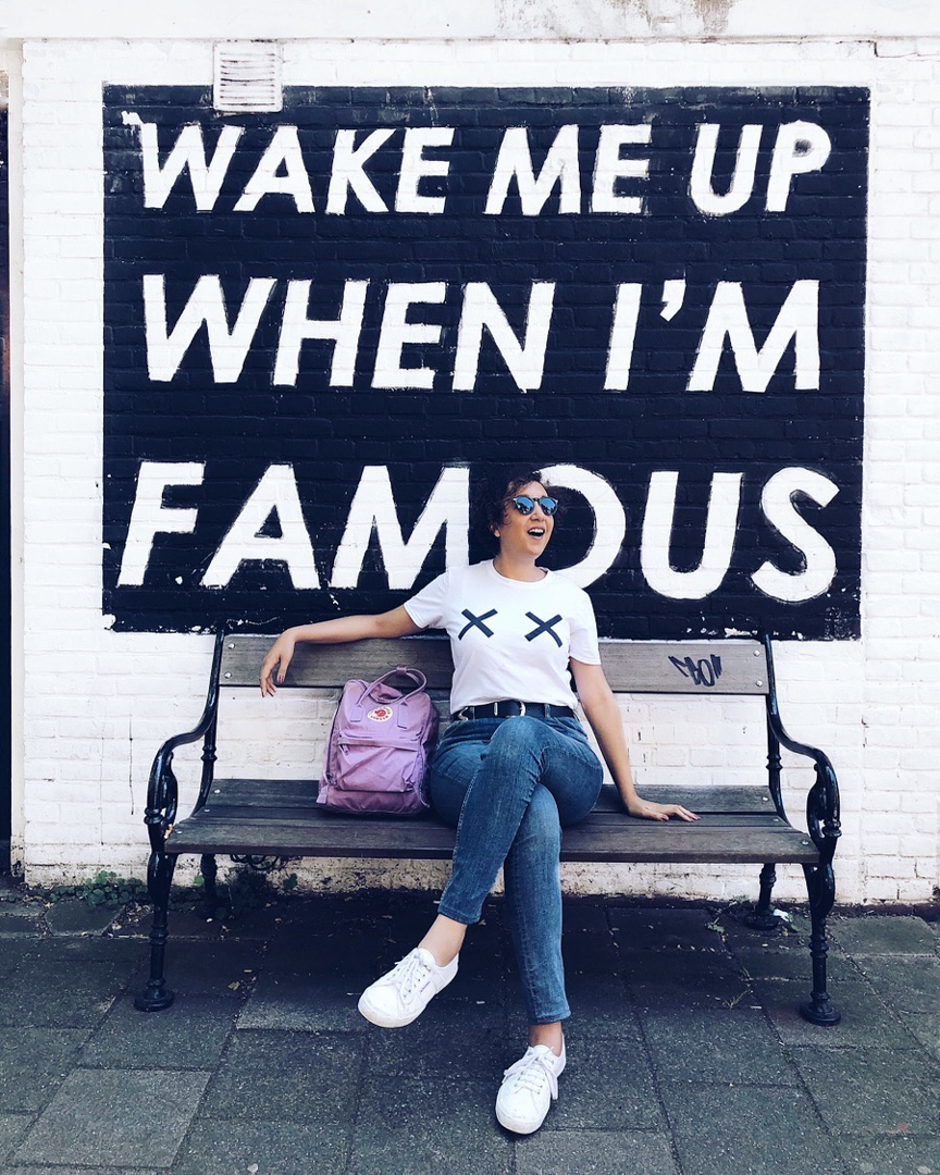 wake me up when i'm famous street art in amsterdam