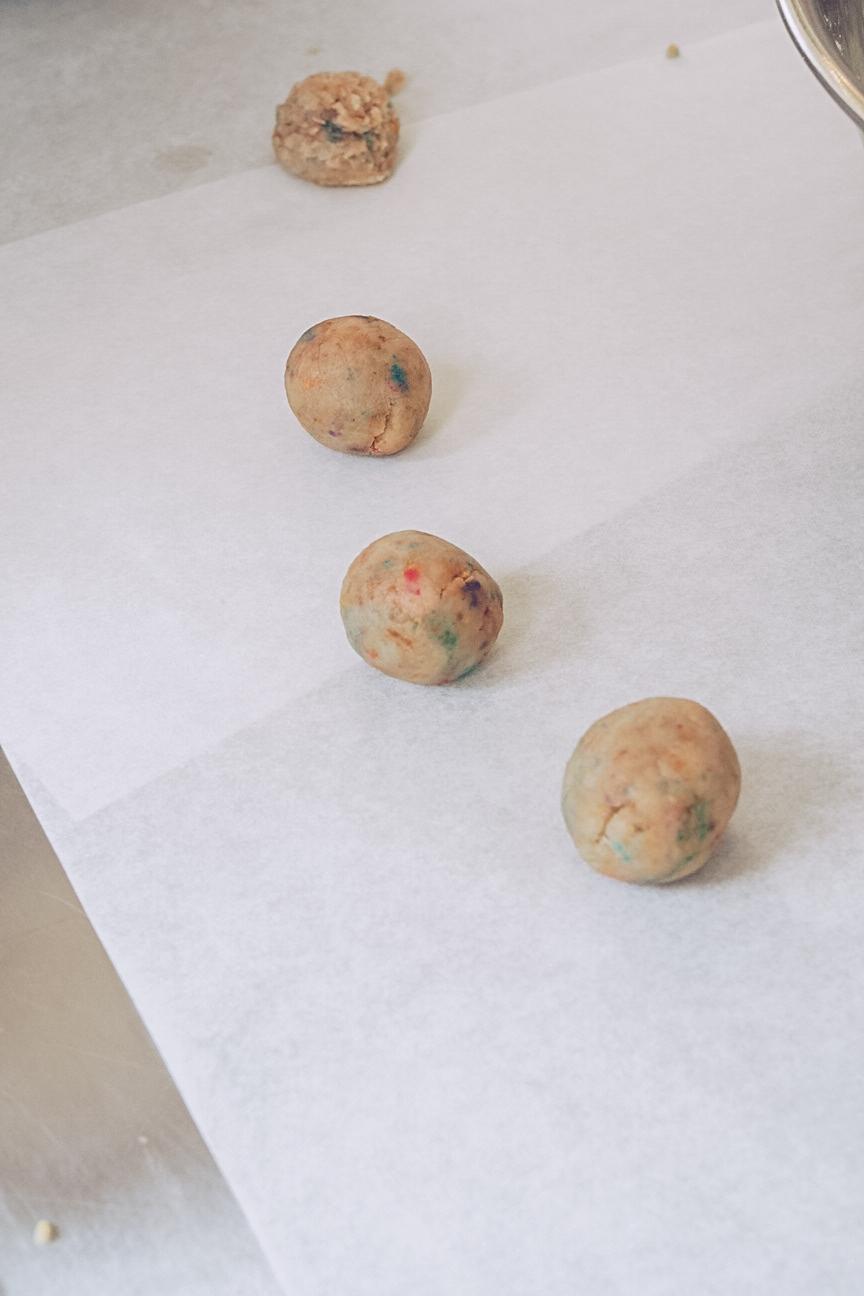 birthday cake truffle balls