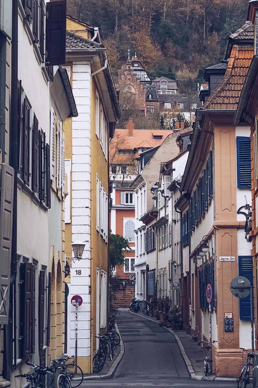 streets in heidelberg