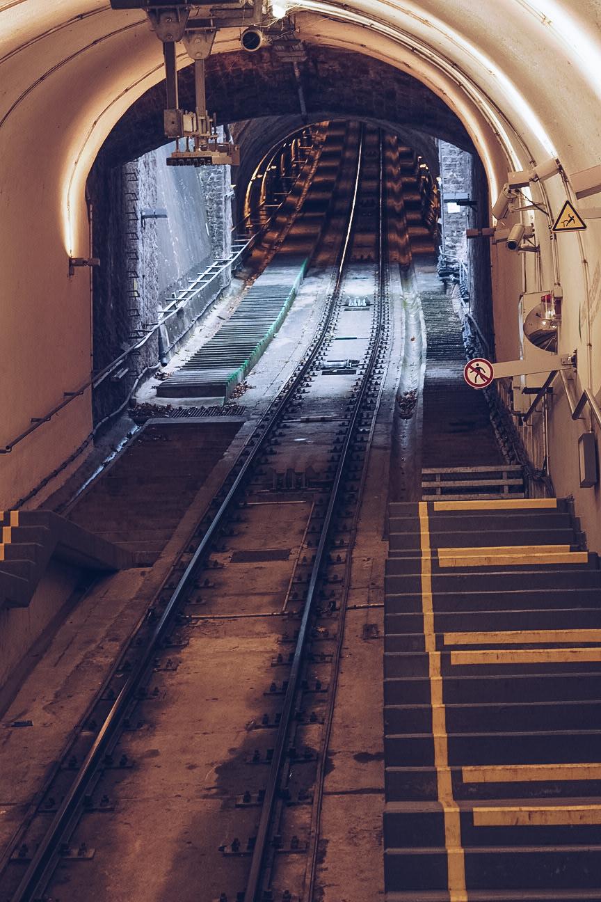 funicular railway in heidelberg