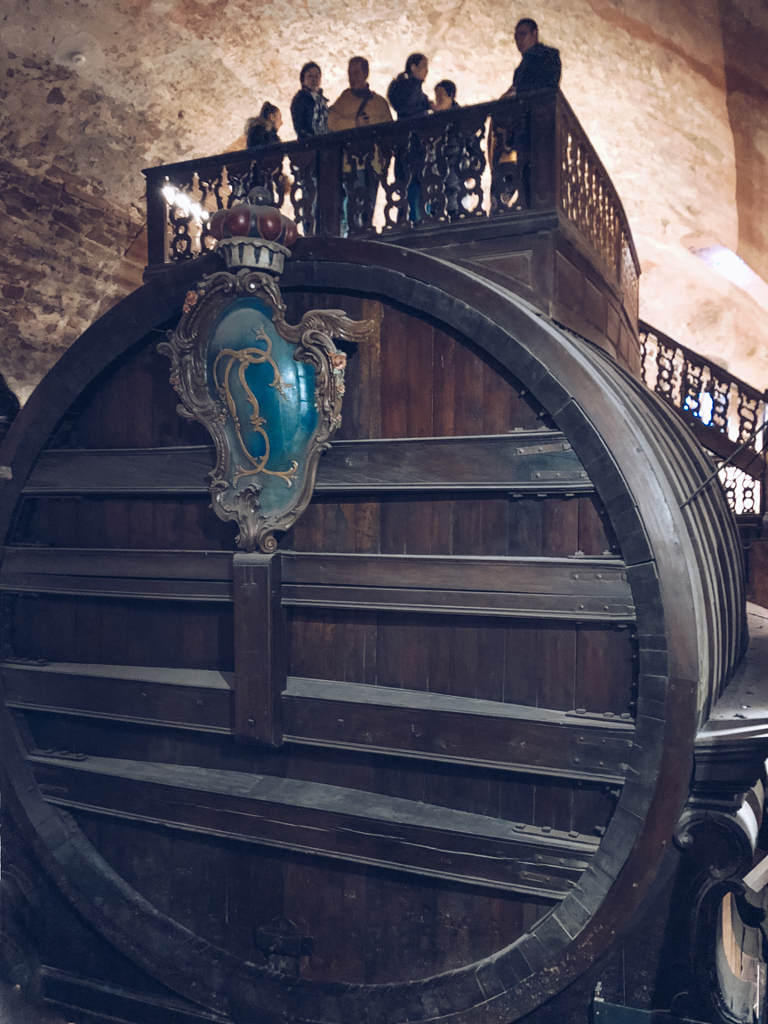 heidelberg tun giant wine barrel
