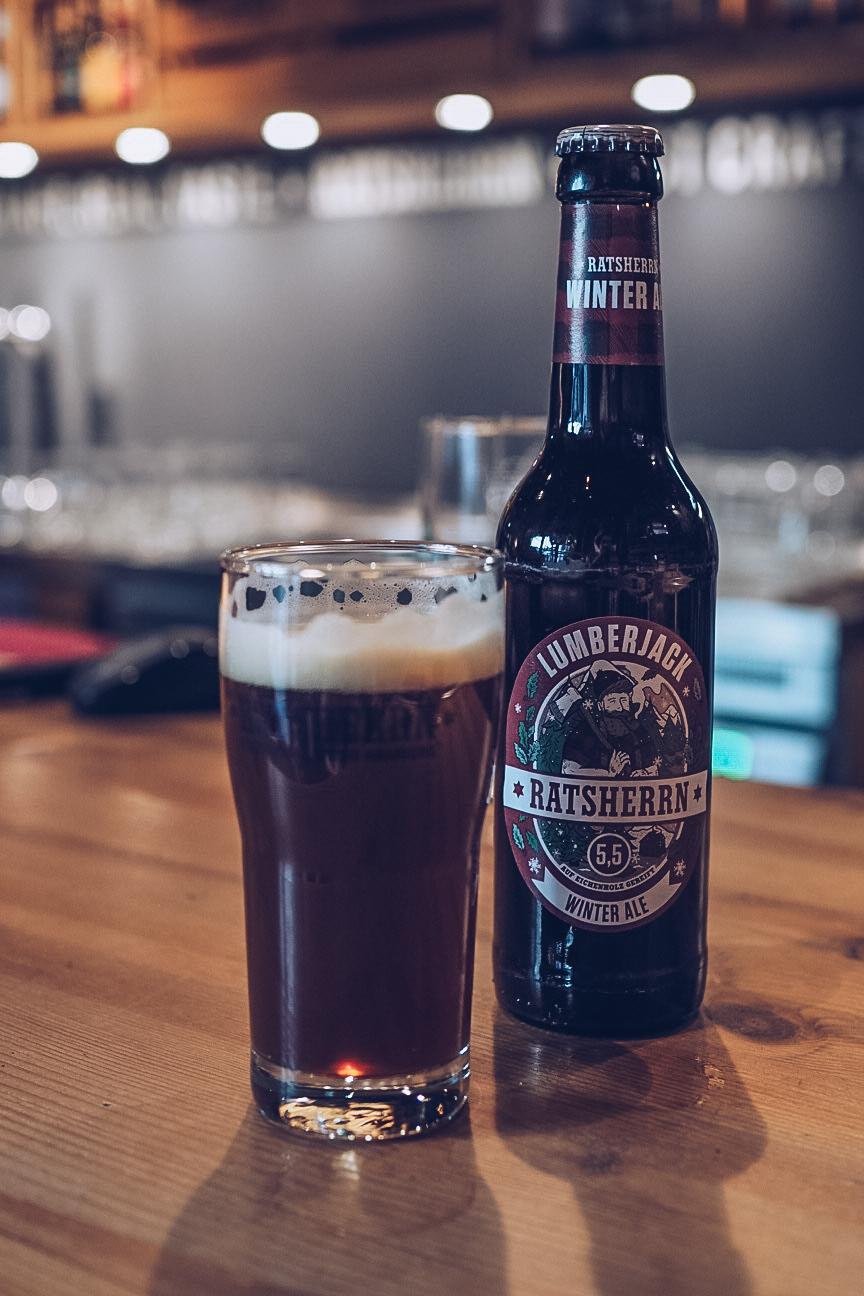 ratsherrn brewery lumberjack ale