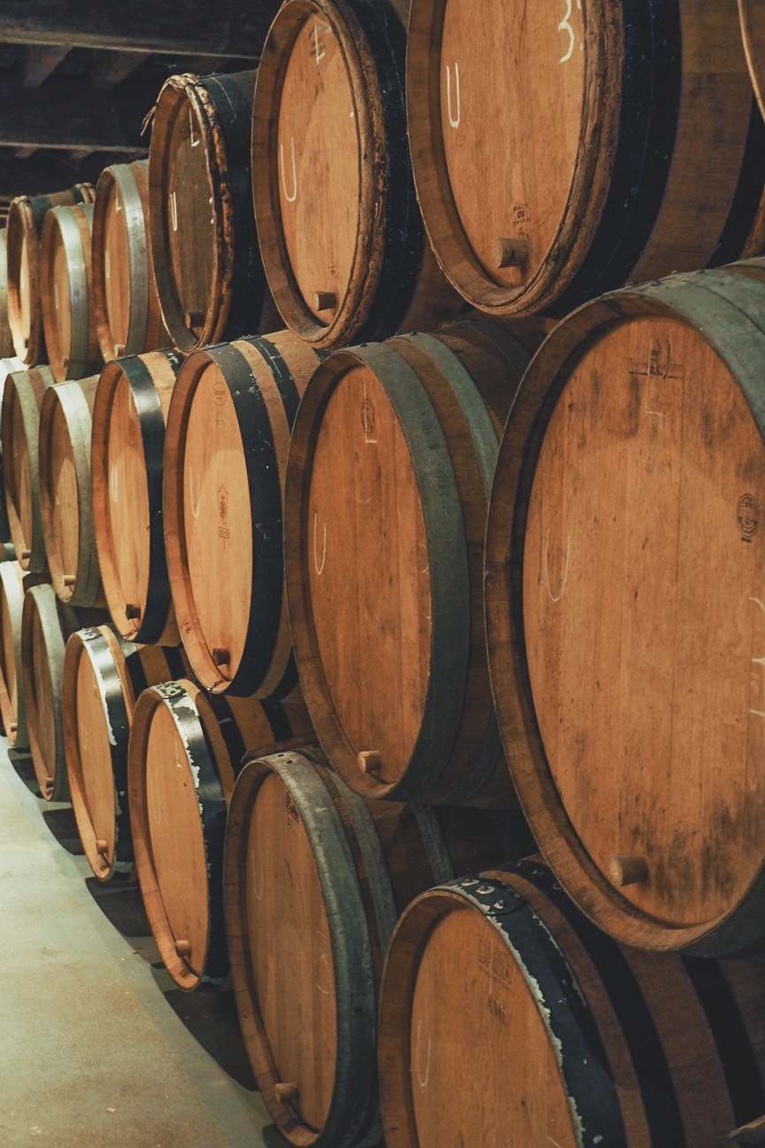 lambic beer casks