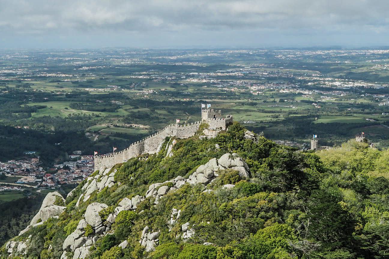moor castle sintra lisbon