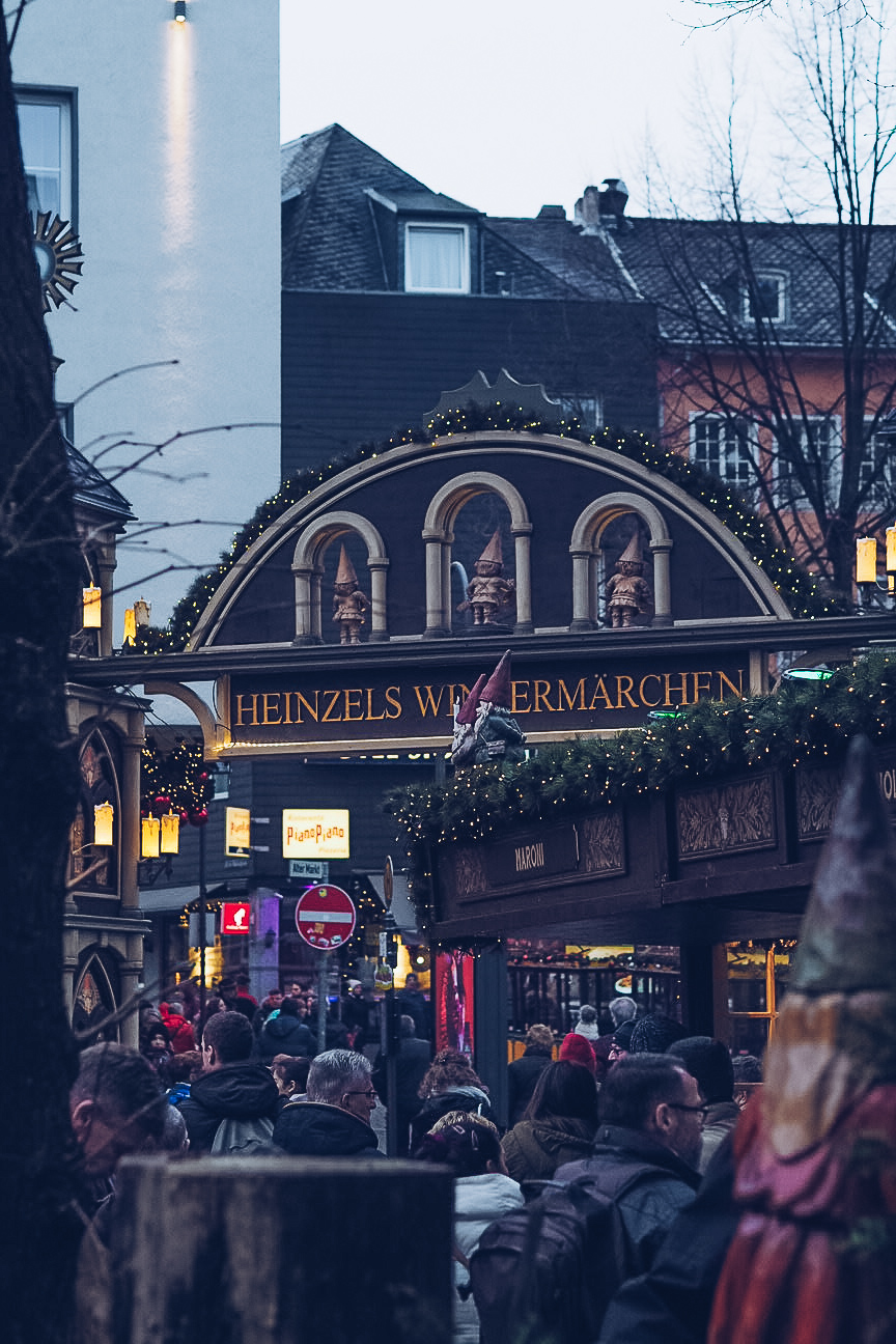 Cologne Christmas markets in the day