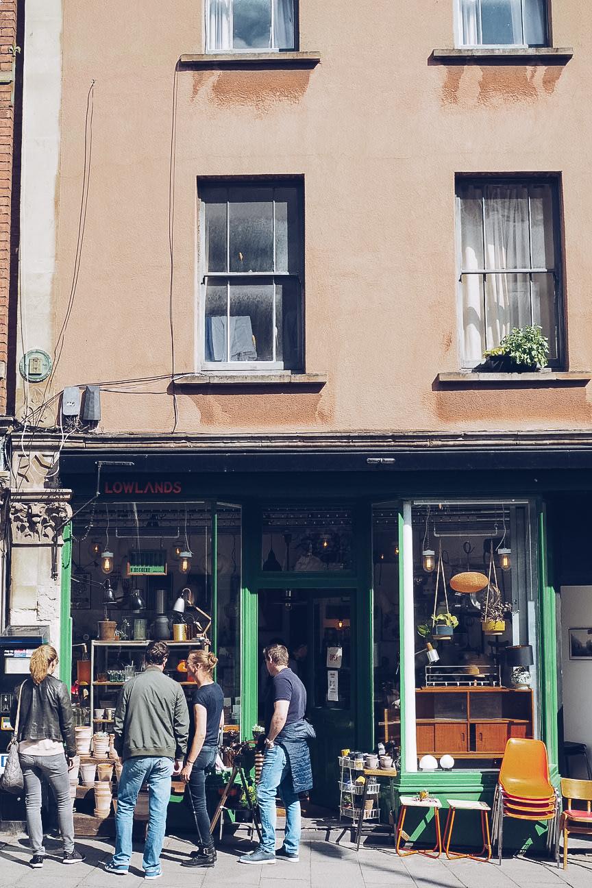 antique furniture store front