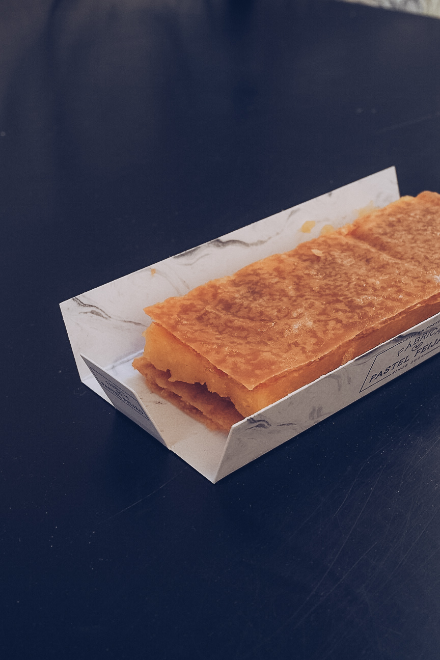 pastel feijão